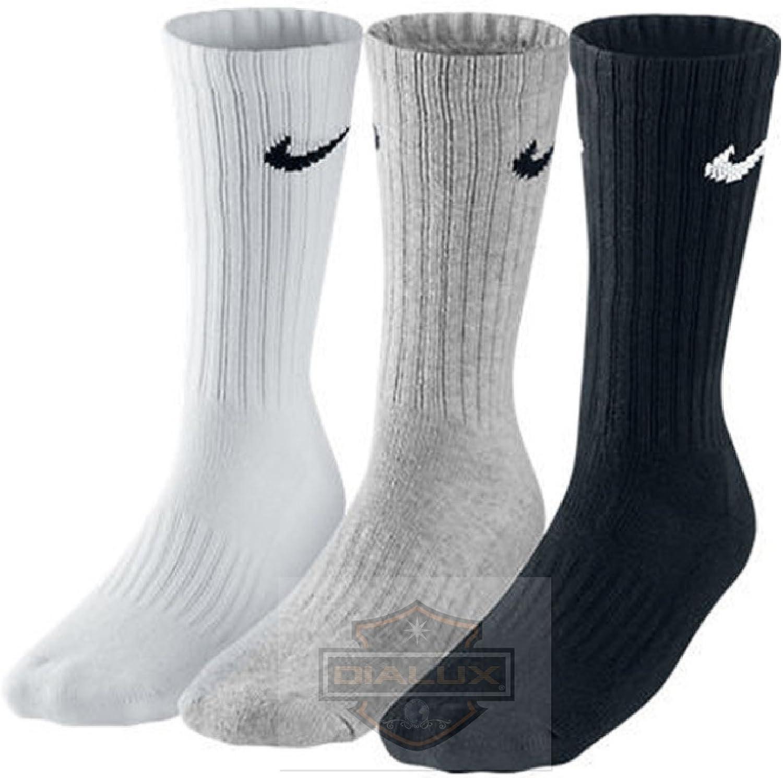 Nike 3PPK Value Cotton Crew Calze