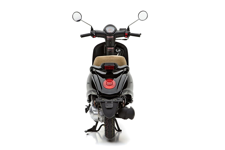 45km//h Motorroller Nova Motors Grace 50 schwarz