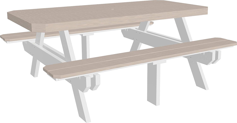 Wondrous Amazon Com Furniture Barn Usa Outdoor 6 Foot Picnic Table Ibusinesslaw Wood Chair Design Ideas Ibusinesslaworg