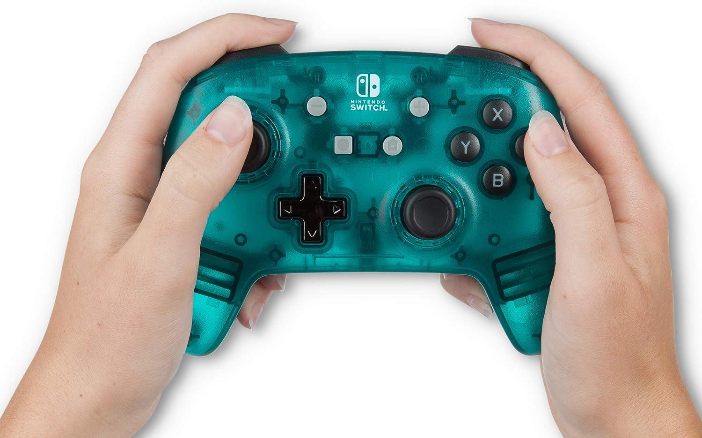 PowerA - Mando con cable, Azul verdoso frío (Nintendo Switch): Amazon.es: Videojuegos