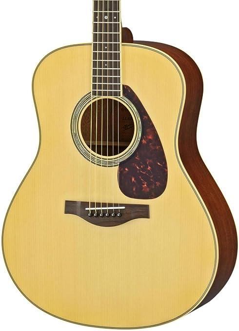 Yamaha serie L ll6 m Dreadnought Guitarra Acústica: Amazon.es ...