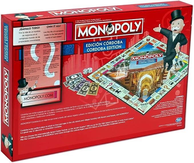 Winning Moves Monopoly Córdoba (10544), multicolor (ELEVEN FORCE: Amazon.es: Juguetes y juegos