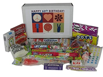 Woodstock Candy 60th Birthday Gift Box Of Retro From Childhood