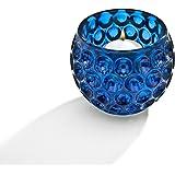 StudioSilversmiths 44276 Circle Design Votive Bowl - Blue