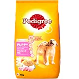 Pedigree Puppy Dog Food Chicken & Milk, 10 kg Pack