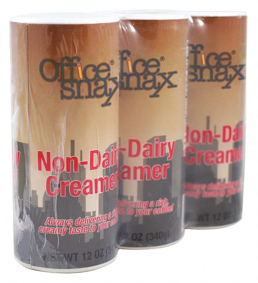 12 oz. Non Dairy Creamer Canister; PK24