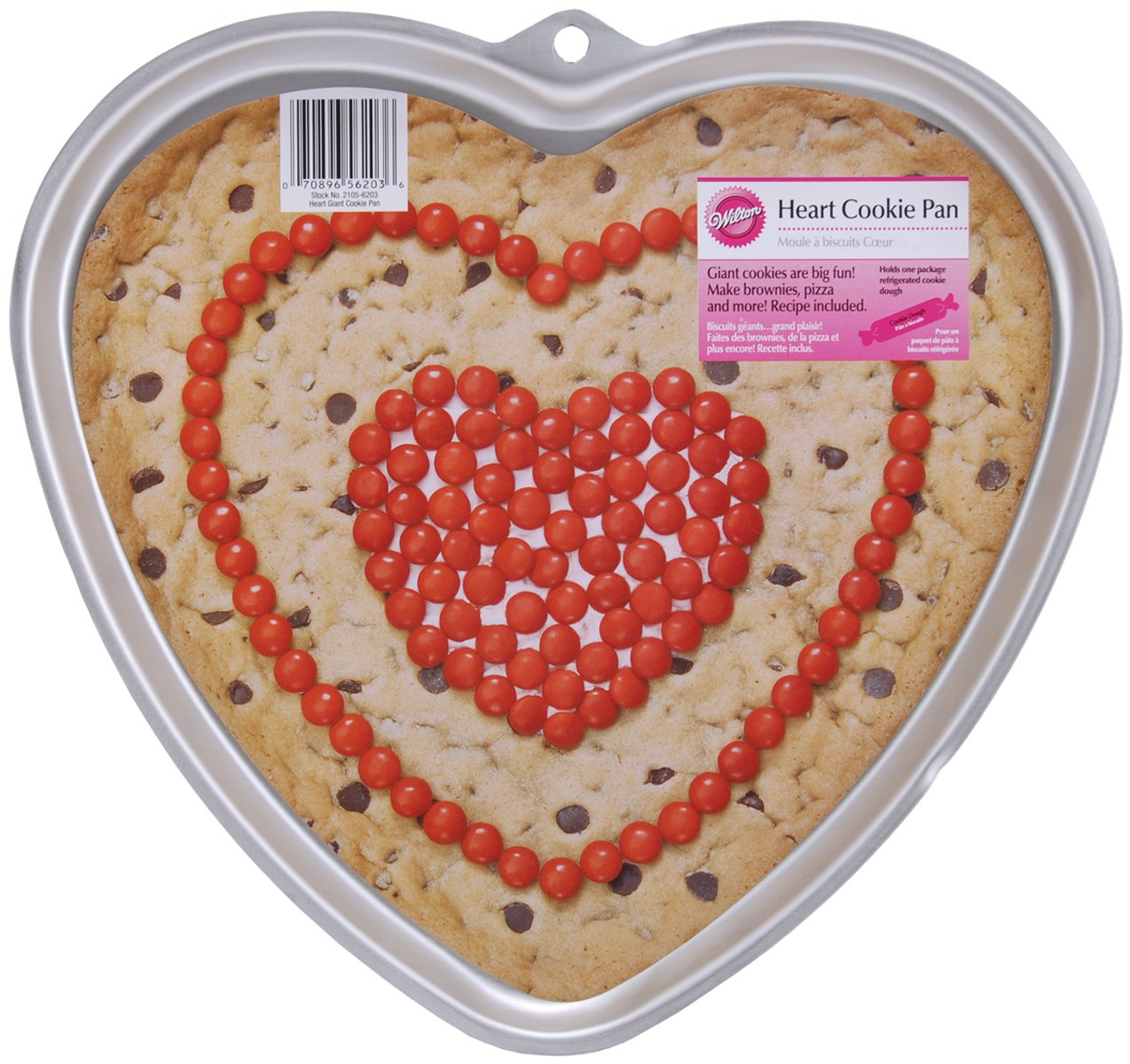 Wilton Heart Giant Cookie Pan 2105-6203