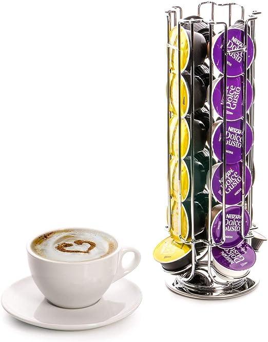 24 cápsulas de café Dolce Gusto de la torre de giratoria: Amazon ...