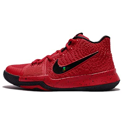 6d87d10f82 ... official nike kids kyrie 3 gs university red black team red youth size  712fb ab838