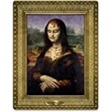 Beistle 01246 Moaning Lisa Masterpiece, 23 by 18-Inch