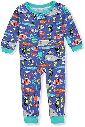 Carters 1 pieza de pijamas de algodón sin pies ajustados para bebé-niños 12 meses Sospechoso: Amazon.es: Ropa y accesorios