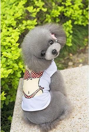 Camisa de perro Encoco, camisas para mascotas, camiseta para perro, chaleco para cachorros, ropa para perros pequeños, ropa de playa para perros: Amazon.es: Hogar