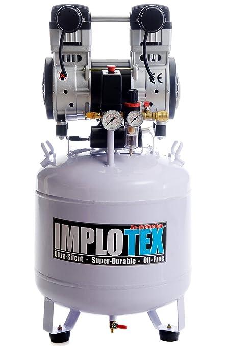 1500W 2PS flüster-Compresor de aire comprimido Compresor 60dB Silencioso sin aceite implotex