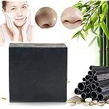 Gesicht Seife,Schwarze Seife,Akne Seife,Kohle Seife,Bamboo Charcoal Soap,Gesichtsreinigung für Männer und Frauen,für Anti Akne Öl-Kontrolle