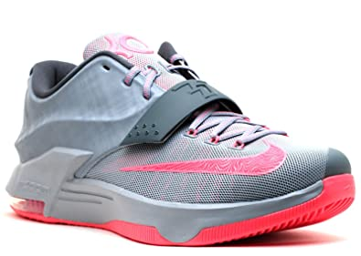 promo code 6cbc4 7307f NIKE KD VII Calm Before The Storm Men's Shoes Magnetic Grey/Hyper  Punch-Light Magnetic Grey 653996-060