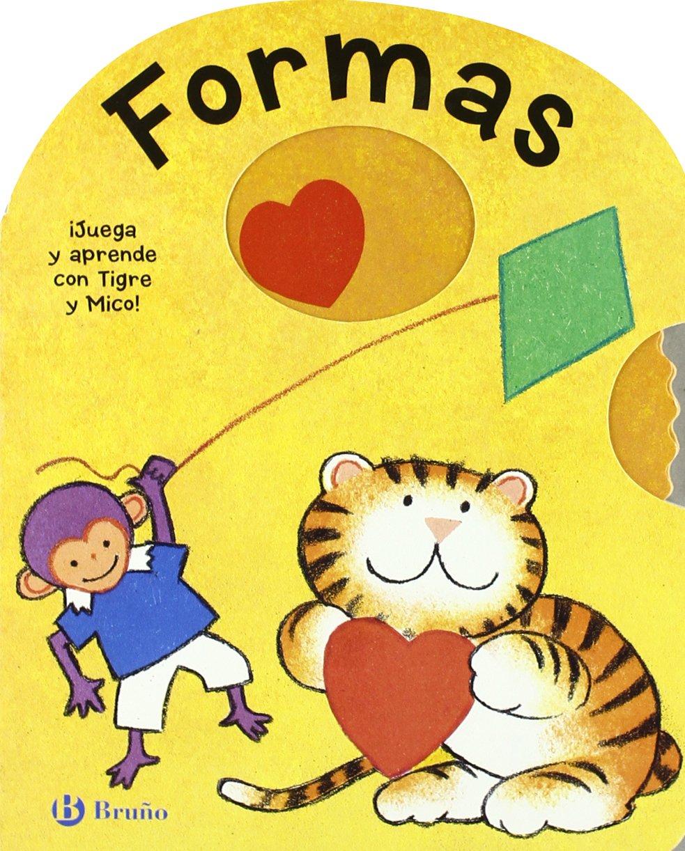 Formas: ¡Juega y aprende con Tigre y Mico! (Castellano - A Partir De 0 Años - Manipulativos (Libros Para Tocar Y Jugar) Pop-Ups - Libros-Ruleta)