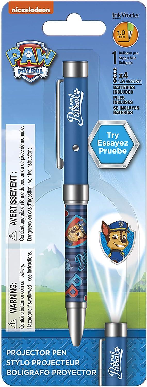 Paw Patrol – Chase – Bolígrafo de tinta de proyector: Amazon.es ...