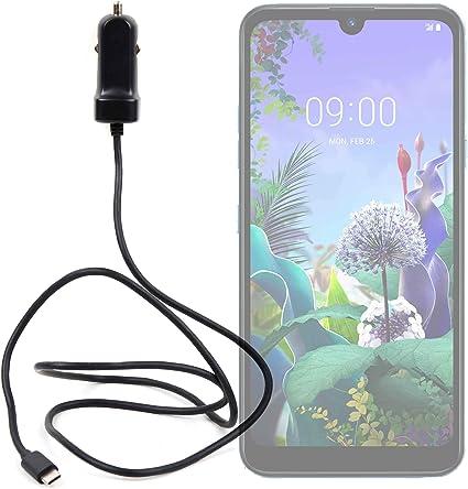 DURAGADGET Cargador de Coche USB C para Smartphone LG Q60 3 ...