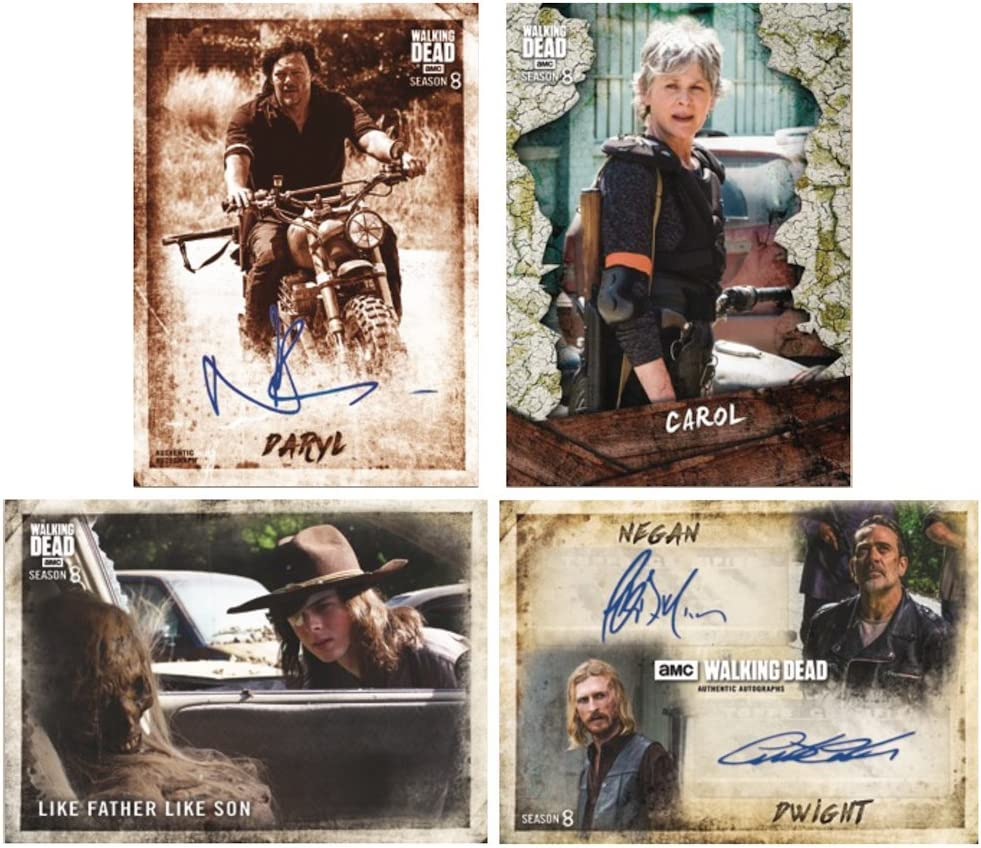 2018 Topps The Walking Dead Season 8 Part 1 HOBBY Trading Card box