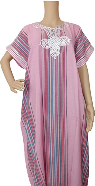 Zuwaina - Vestidos de caftán marroquí para mujer (algodón), diseño ...