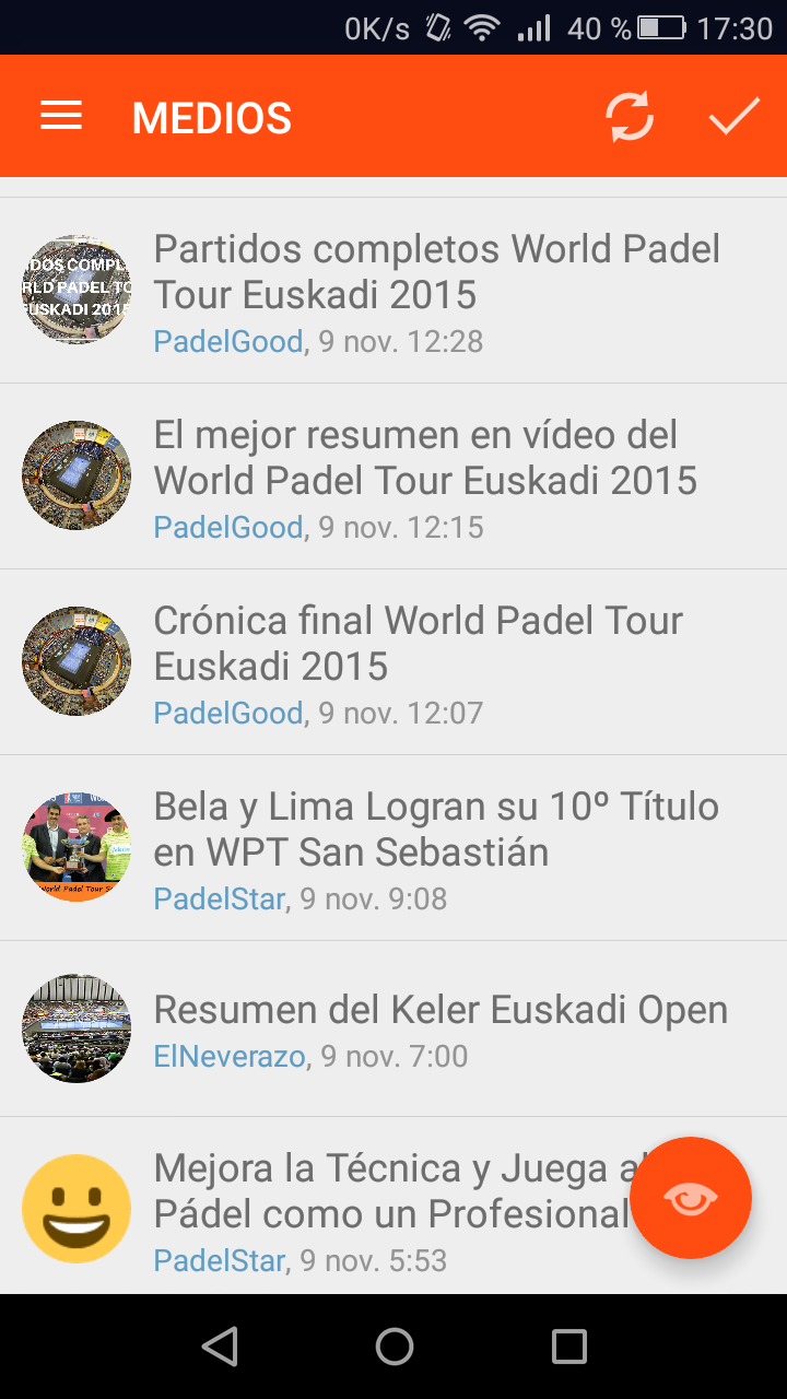 Amazon.com: Padel News: Appstore for Android