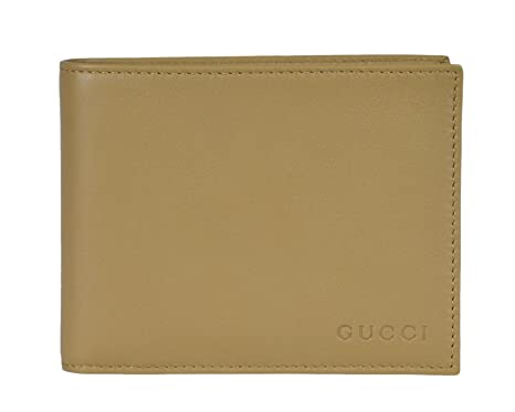 cd54358a2f5 Image Unavailable. Image not available for. Color  Gucci Men s Leather Bi-fold  Wallet ...