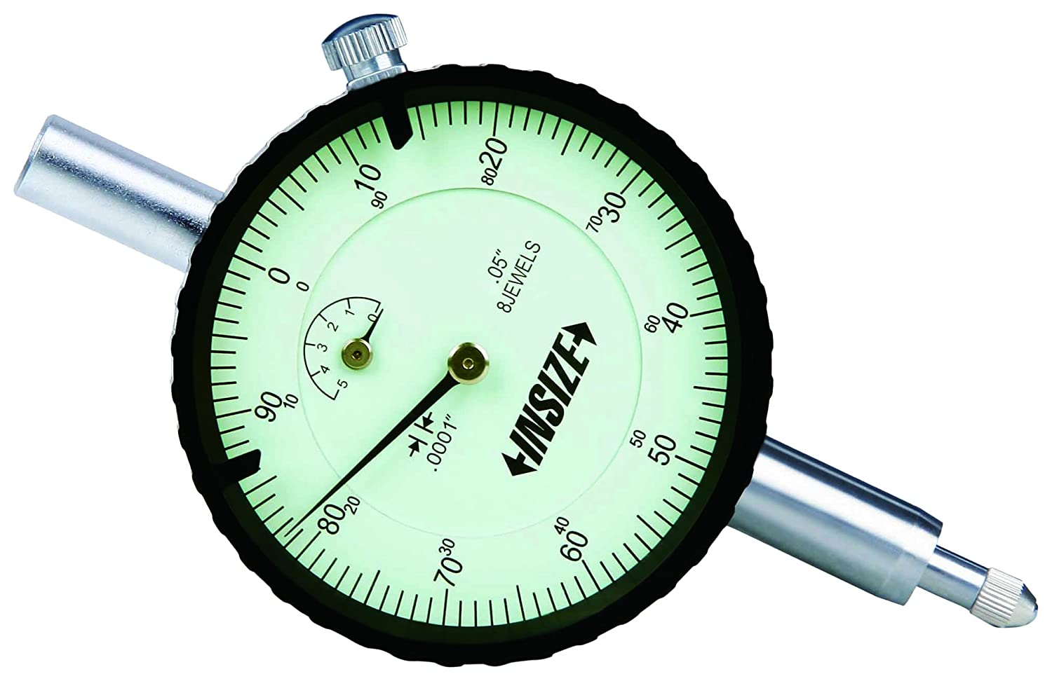 INSIZE 2380-35 DIAL TEST INDICATOR 0.03 INCHES RES 0.0005 INCHES