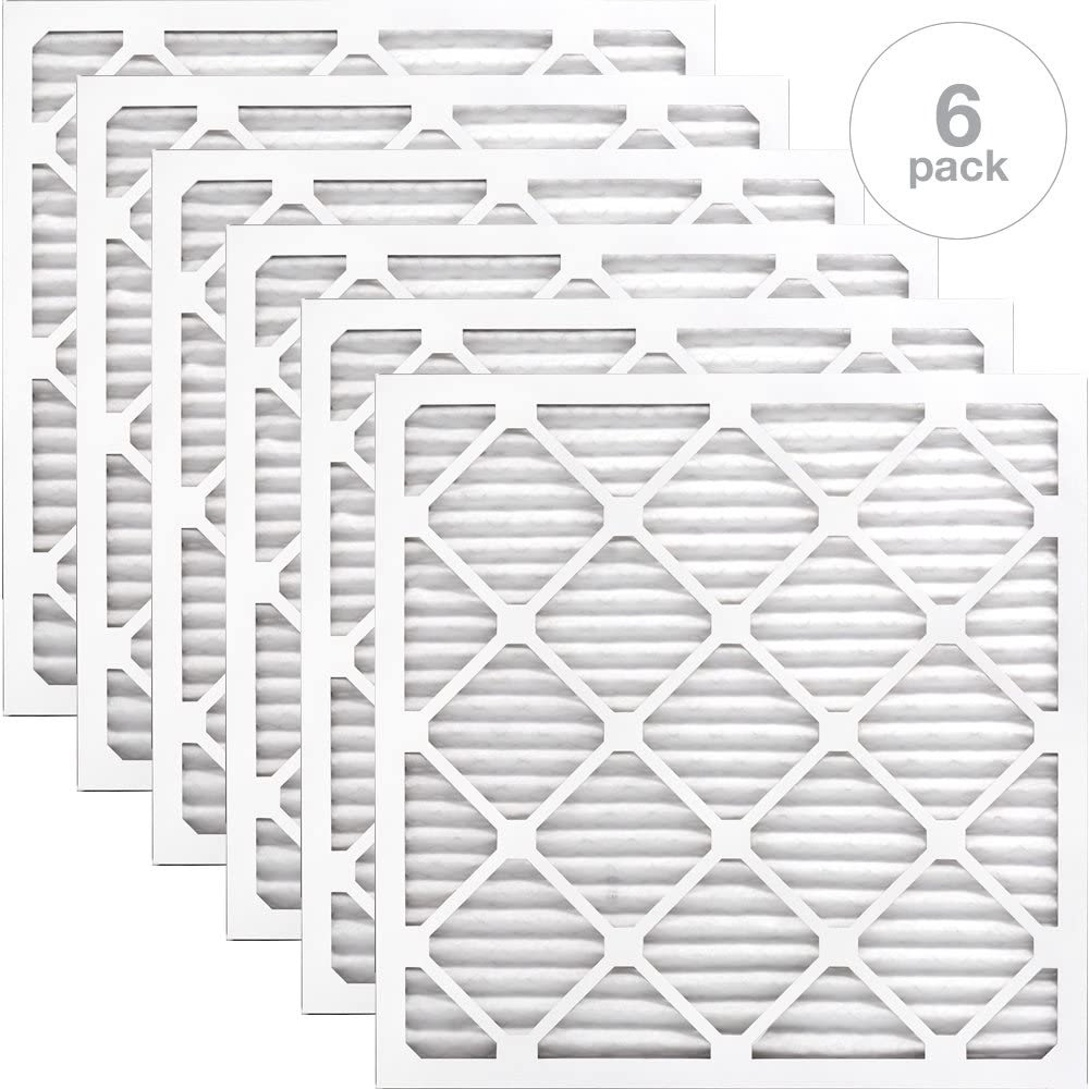 AIRx HEALTH 16x16x1 MERV 13 Pleated Air Filter Made in the USA Box of 6