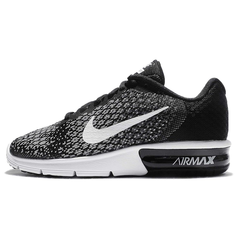 Proscrito energía filete  Nike Air Max Sequent 2 Black/White/Dark Grey/Wolf Grey Womens ...