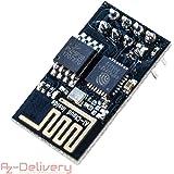 AZDelivery ⭐⭐⭐⭐⭐ ESP-01 esp8266 WiFi Modulo per Arduino, Raspberry Pi e Microcontroller con eBook Gratuito!
