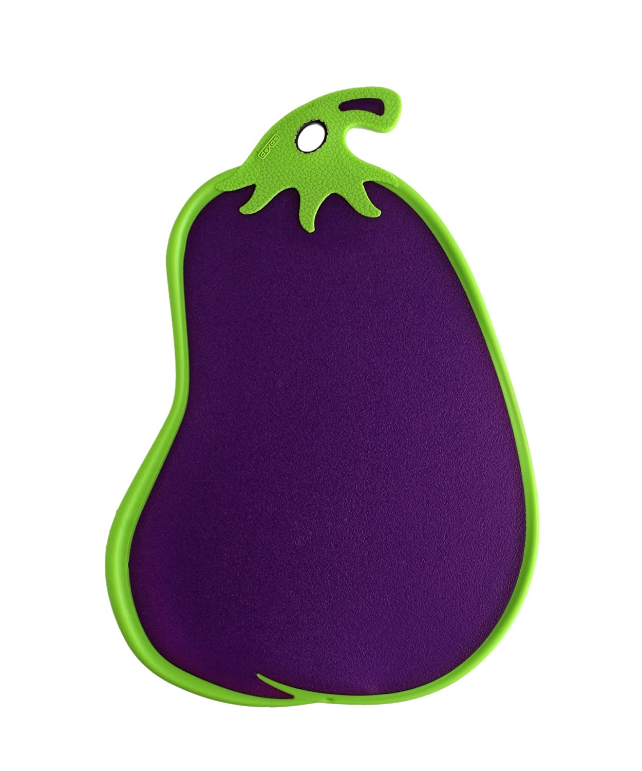 Eggplant kitchen accessories - Amazon Com Dexas Cutting Serving Board Eggplant Shape Purple Cutting Board Kitchen Dining