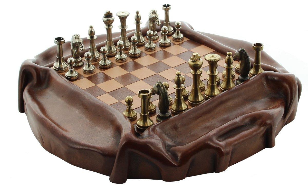 JS Schachspiel Kangaroo 3600/35 - Bridgebraun