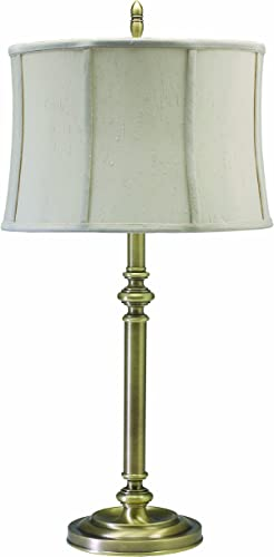 House of Troy CH850-AB Coach Collection Portable Table Lamp