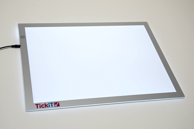 varios colores TickiT 73275 Conjunto de bloques de colores 24 piezas TickiT 73048 Panel de luz de tama/ño A2