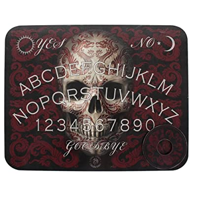 Something Different Oriental Skull Ouija Board, Black: Toys & Games