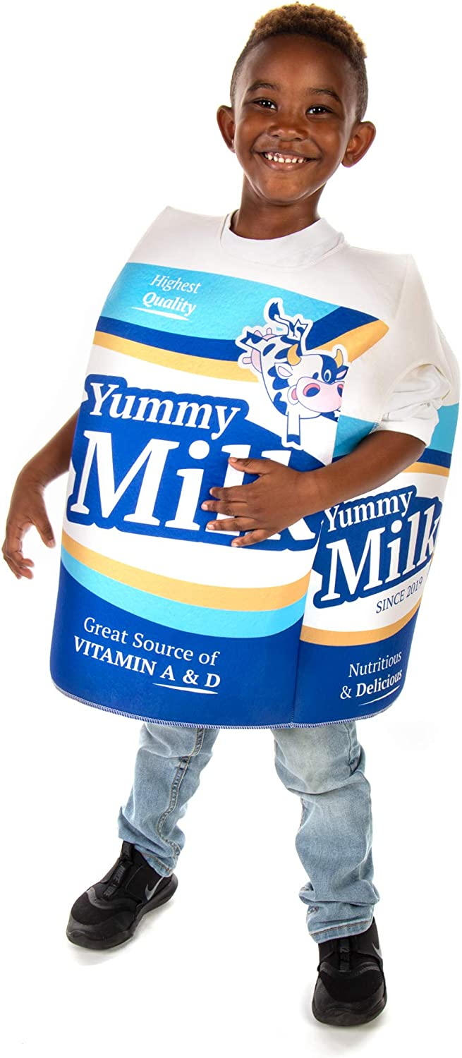 Wholesome Milk Carton Children's Halloween Costume - Funny Food Kid Outfit