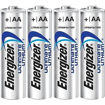 Energizer Lithium Baterías AA 3 + 1 FOC ENGLBS5715