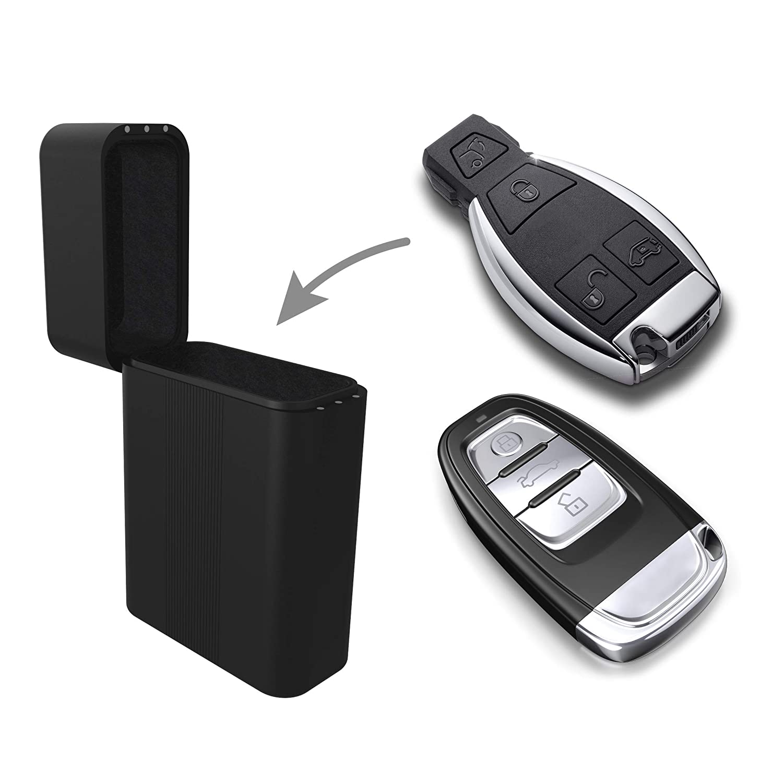 NFC RFID Auto Schl/üssel Schutzh/ülle Practimondo Keyless Go Autoschl/üssel Schutz Box Diebstahlschutz Autoschl/üssel Schlie/ßsystem Car Key Entry Signal Blocker