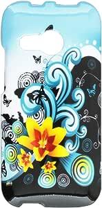 HRWireless(TM - Carcasa para HTC One Remix M8 Mini One Mini 2, Azucena Amarilla
