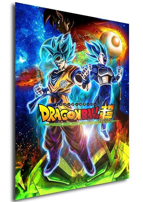 Instabuy Poster Cartel de pelicula - Dragon Ball Super ...