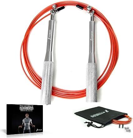 Corde à sauter Réglable Nylon Sauter Boxe Fitness Vitesse Corde training 3 m