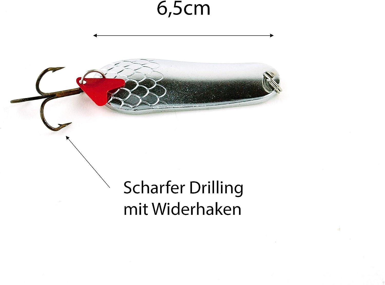 Blinker Set Hechtblinker Hechtköder Sortiment Angelblinker 16-34g Zite Fishing