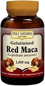 Only Natural Gelatinized Red Maca