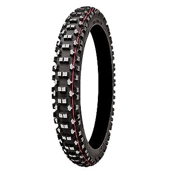 MITAS C21 - Neumático de competición, terrenos duros Blackwall, tamaño 80/100-21: Amazon.es: Coche y moto