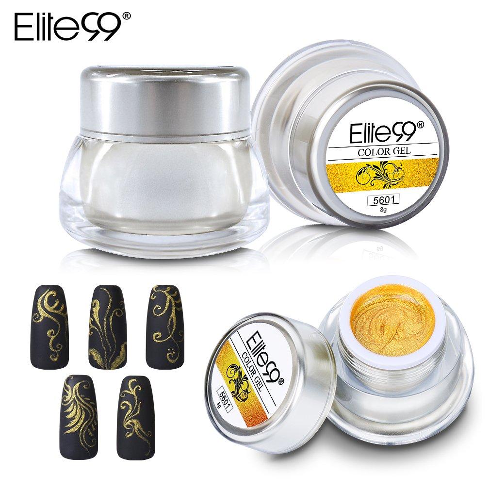 Amazon.com : Elite99 3D Color UV Gel Nail Art Paint Draw Painting ...