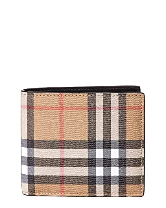 factory authentic big selection new release Amazon.com: Burberry men Ccbill wallet black: Clothing
