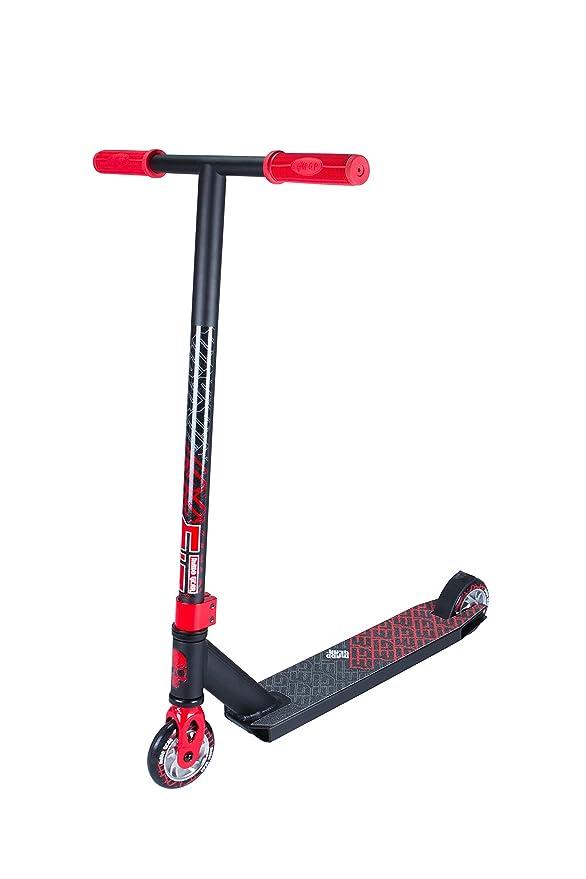 Madd Gear Kick Extreme - Patinete (modelo 2017), negro /rojo ...