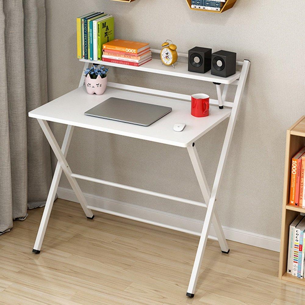 ZZHF 折り畳みテーブル/ポータブル折りたたみテーブル/便利なコンピュータデスク/スタディテーブル/子供用ダイニングテーブル/ 4色オプション デスク ( 色 : B ) B07BFT21QL B B