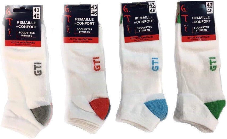 3 paires femmes thermal rayures slipper gripper socks non skid assortis