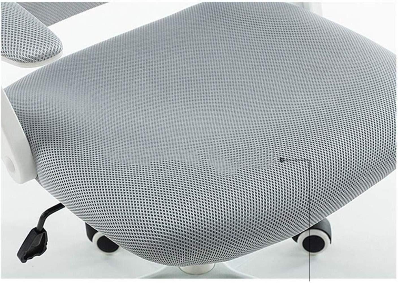 THBEIBEI Hem Kontor Skrivbord Stol Spel Stol Dator Uppgift Roterande Ledstång Andas Nät Lager Vikt 200 kg 8 färger (Färg: Lila) Lila